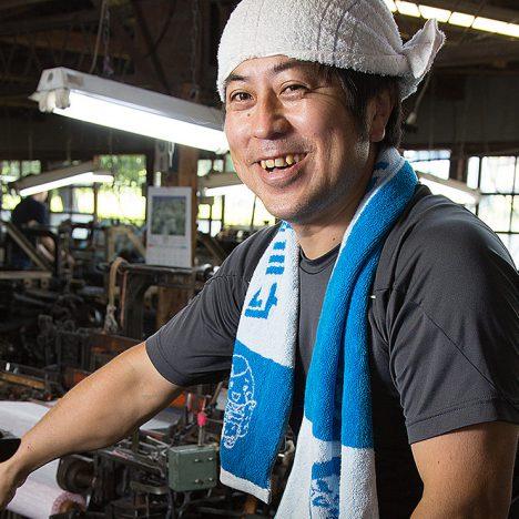 かすりの里® 有限会社坂田織物 代表 坂田 和生